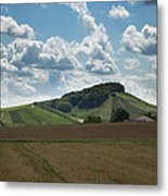 Wine Hills Of Germany Metal Print