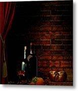 Wine Lifestyle Metal Print