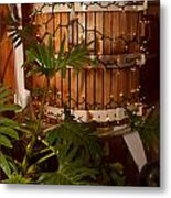 Wine Press Metal Print