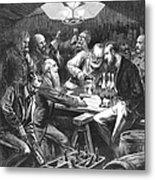 Wine Tasting, 1876 Metal Print by Granger