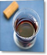 Wine Tasting Metal Print by Frank Tschakert