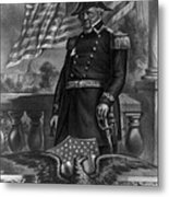 Winfield Scott, American Army General Metal Print