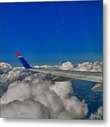 Wing And Clouds Metal Print