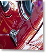 Wing Mirror Metal Print