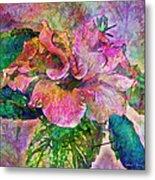 Winter Bloom Metal Print