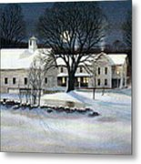 Winter Glow Metal Print by Karol Wyckoff