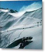 Winter In Austria Metal Print
