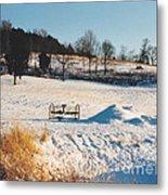 Winter In Granville Tennessee Metal Print