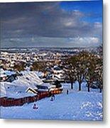 Winter In Inverness Metal Print