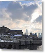 Winter In Philly Metal Print