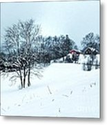 Winter Landscape 1 Metal Print