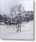 Winter Landscape 6 Metal Print