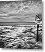 Winter... Or Three Months Of Silence Metal Print
