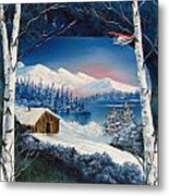 Winter Retreat Metal Print