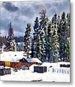 Winter Seclusion Metal Print
