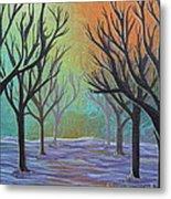 Winter Solitude 11 Metal Print