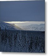 Winter Sun Alaska Metal Print by John Wolf