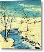 Winter Thaw Metal Print