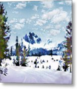 Winter Wonderland Metal Print by Suni Roveto