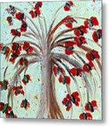 Winterblooms Metal Print by Ayasha Loya