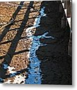 Winters Approach Metal Print