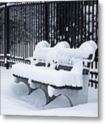 Winter's Quiescence Metal Print by Dale Kincaid