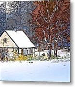 Winther In The Wood Metal Print