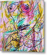 Wired For Joy Metal Print