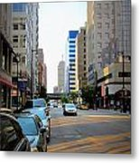 Wisconsin Avenue 2 Metal Print