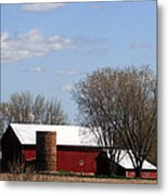Wisconsin Farm Metal Print
