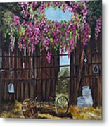 Wisteria Metal Print by Jan Holman