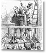 Witch Trial: Execution, 1692 Metal Print by Granger