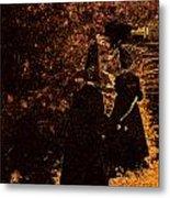 Witch Walk 2 Metal Print