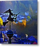 Witch's Ride Metal Print