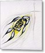 With A Pure Heart Metal Print