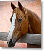 With A Whisper Metal Print
