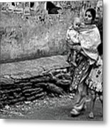 With Hands Held Tightly Metal Print
