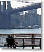 With Ny In Front Of Me Metal Print