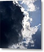 With Thunder He Speaks Metal Print