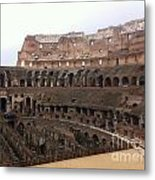 Within The Colosseum Metal Print
