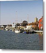Wivenhoe Waterfront Panorama Metal Print