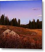 Wolf Creek Twighlight Metal Print