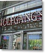 Wolfgangs Reflections Metal Print