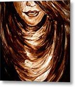 Woman 2 Metal Print