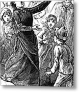 Woman Preaching, 1888 Metal Print