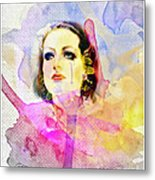 Woman's Soul Part 3 Metal Print