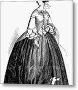 Womens Fashion, 1857 Metal Print