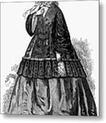 Womens Fashion, C1850s Metal Print