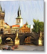 Wonderful Prague Metal Print