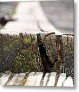 Wooden Board Metal Print